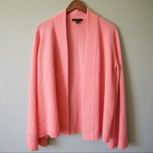 NWOT Ann Taylor Cashmere Open Front Cardigan
